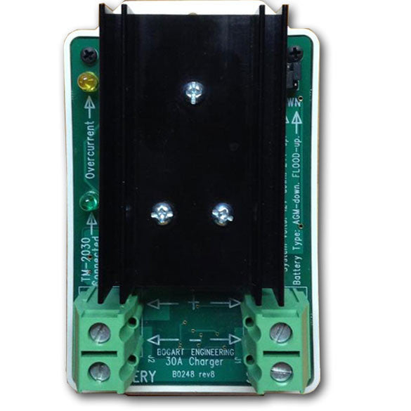 top view bogart sc-2030 charge controller