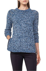 Akris Punto Sweater - Indigo/Cream