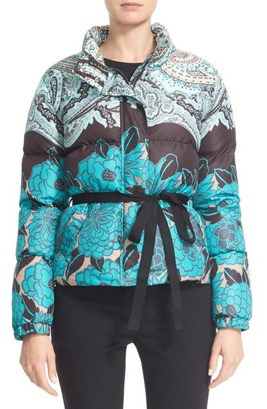 Etro Outer Jacket - Green/Black/Gold