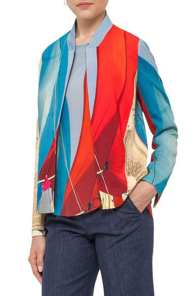 Akris Punto Jacket - Multicolor