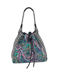 Etro Bag - Turquoise/white/purple/green