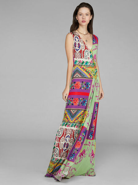 Etro Long Dress - Multicolor