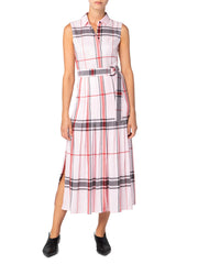 Akris Punto Dress -  Pink/Black