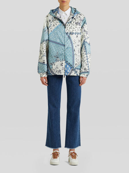 ETRO Outer Jacket - Blue/White