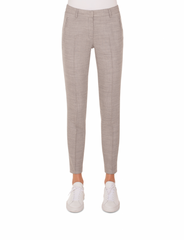 Akris Punto Pant - Silver/Off-White