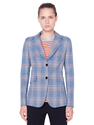 Akris Punto Blazer - Blue/Orange