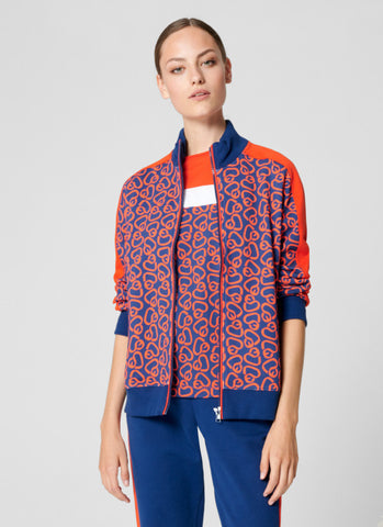Escada Sport Jacket  - Royal Blue/Orange