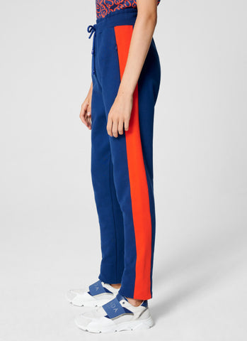 Escada Sport Pant - Royal Blue/Orange