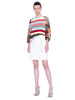 Akris Punto Sweater - Multicolor Stripe
