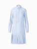 Akris Punto Dress - Blue/Off-White