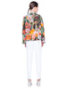 Akris Punto Jacket - Multicolor Print
