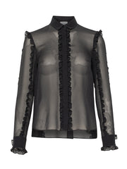 Akris Punto Blouse - Black/White/Dot