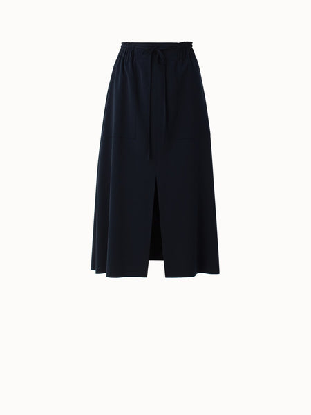 Akris Punto Skirt - Navy