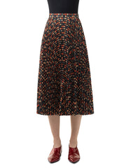 Akris Punto Skirt - Black/Multicolor