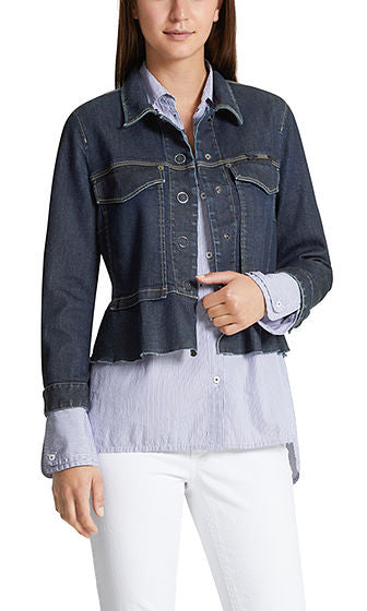 sulfur spirit To block  Marc Cain Jacket - Denim – La Chic