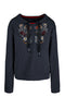 Marc Cain Sweat Top - Navy