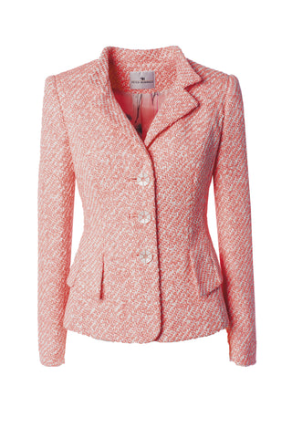 Peter Reinwald Jacket - Pink/Off-White