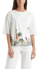 Marc Cain Blouse - White/Print