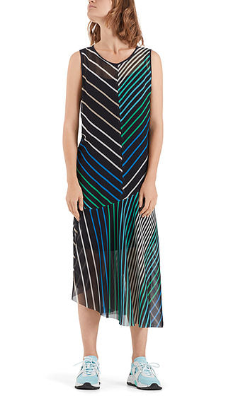 Marc Cain Dress - Green/Navy/White