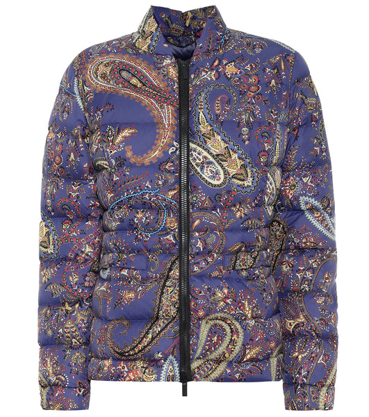 Etro Outer Jacket - Purple/Gold/Black