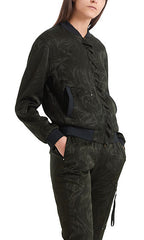 Marc Cain Jacket - Black/Khaki