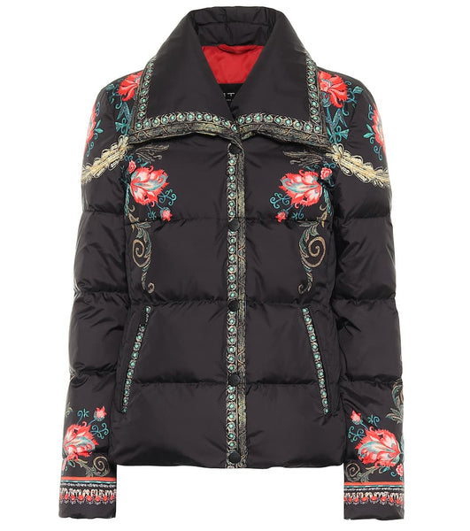 Etro Outdoor Jacket - Black/Print