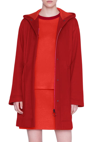 Akris Punto Long Jacket - Red