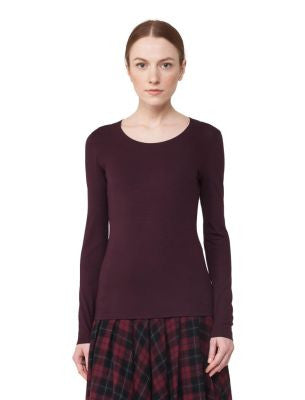 Akris Punto T-Shirt - Burgundy