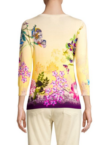 Etro Sweater - Yellow/Multicolor