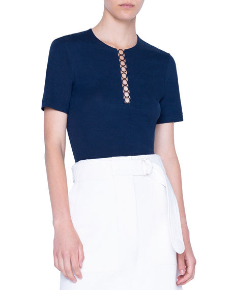 Akris Punto Top - Navy