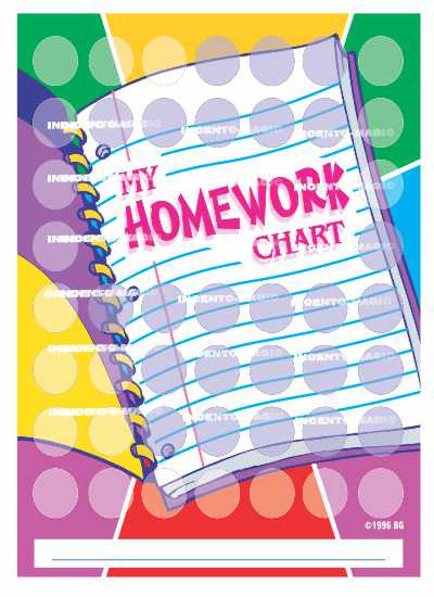 #1013 Homework Incentive Chart - Incento Magic
