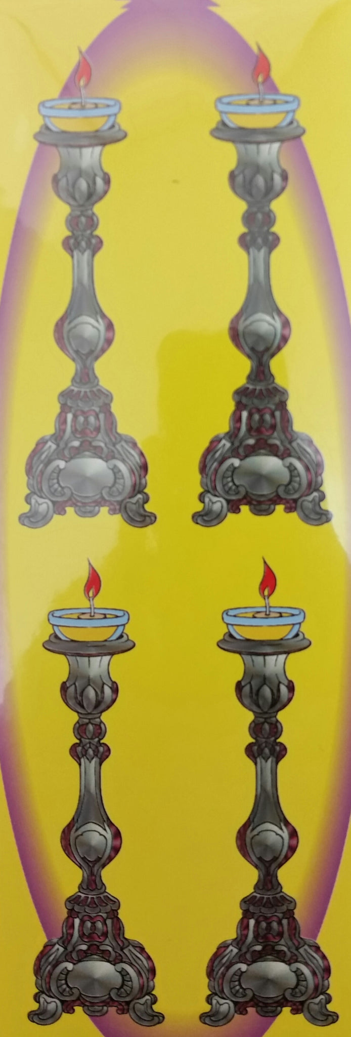 18-27 Shabbos candle sticks