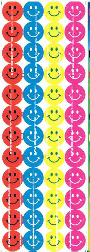 #2055 Smiley Jumbo Dots - Incento Magic - 1