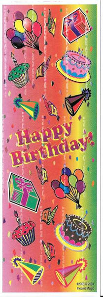 #2058 Happy Birthday Diecut - Incento Magic - 1
