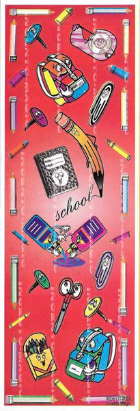 #2061 School Supplies Diecut - Incento Magic - 1