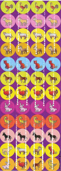 #2075 Farm Animal  Jumbo Dots - Incento Magic - 1