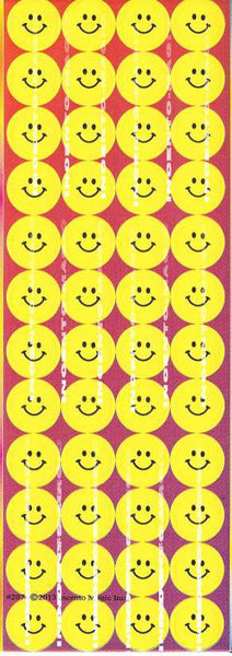 #2076 Yellow Smiley Jumbo Dots - Incento Magic - 1