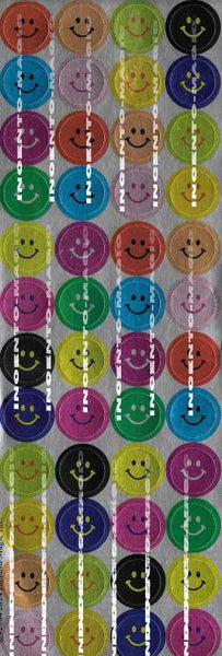 #2084 Colored Foil Smiley Jumbo Dots - Incento Magic - 1