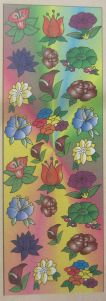 #5202- Flower Die Cut Stickers