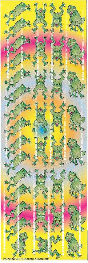 #6098 Frogs Diecut - Incento Magic - 1
