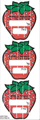 #670 Diecut Strawberry Simchas Purim Purim-Mishloach Manos Labels - Incento Magic - 1