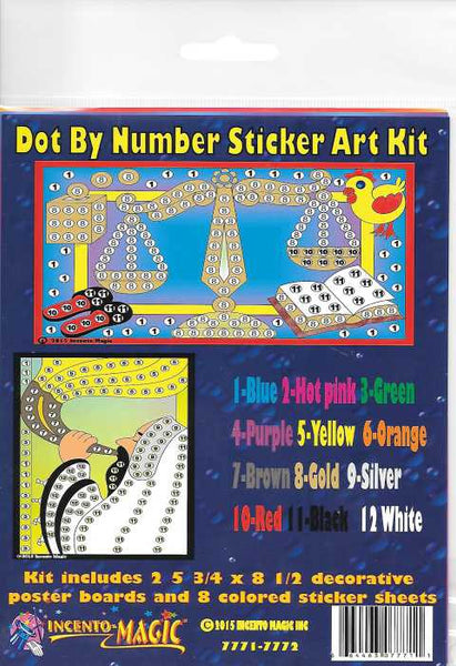 #7771-7772 Rosh Hashana Dot Art - Incento Magic