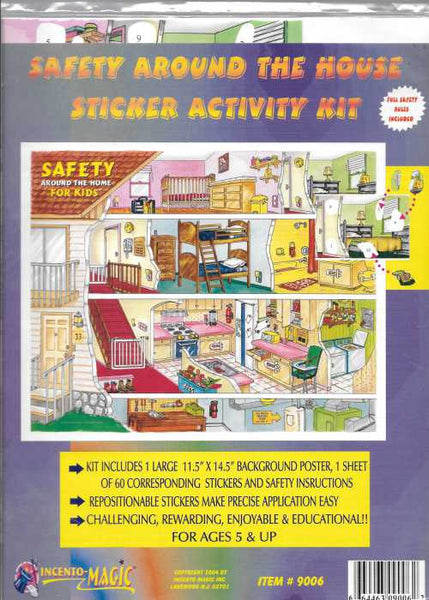 #9006  Safety Sticker Kit - Incento Magic