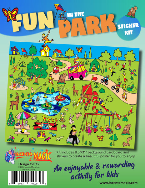 #9025 - Fun in the Park Sticker Kit