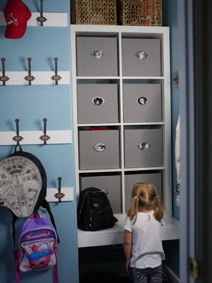 Kid Cubbies: An easy solution for small mudrooms