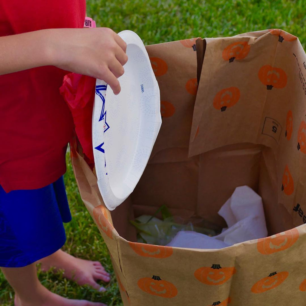 BBQ Hacks: Easy Disposable Garbage Bin