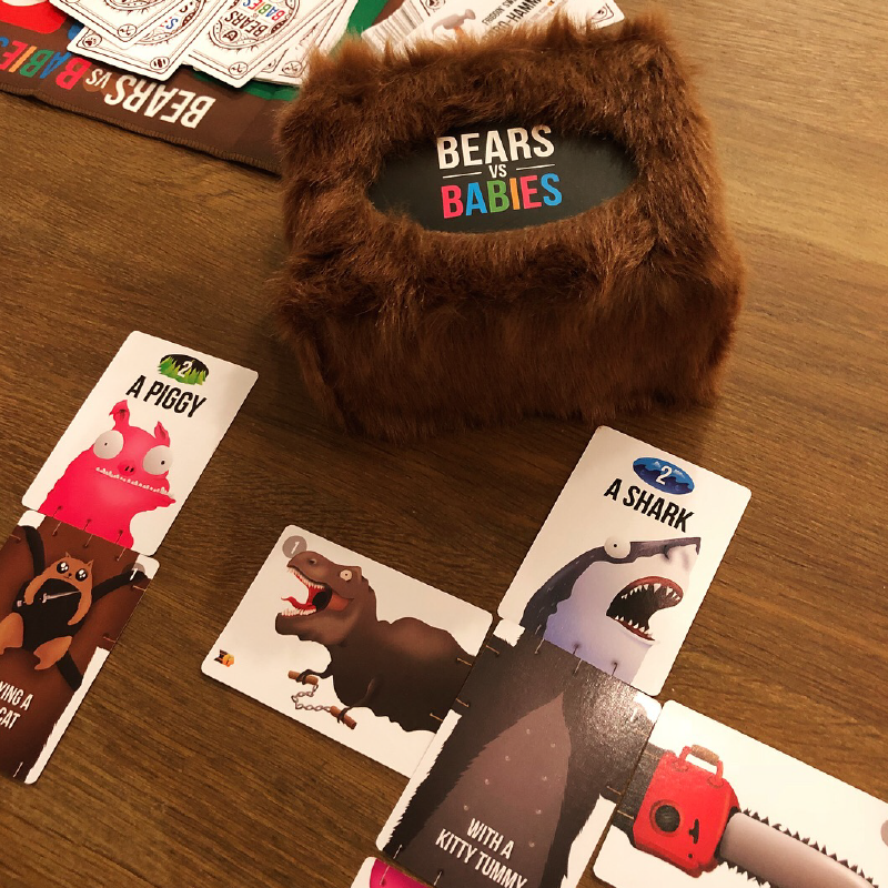 A fun, furry family game: Bears vs. Babies