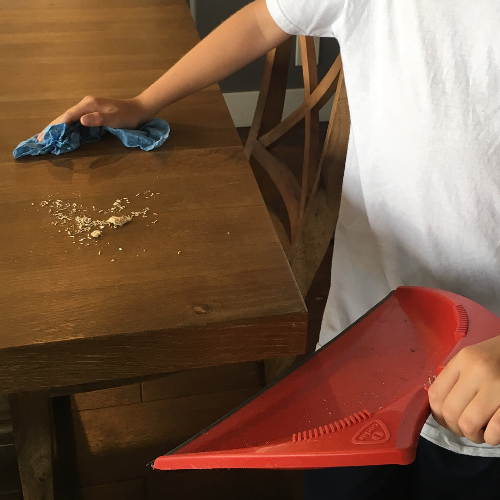 Mom Hacks: Help kids clean counters with this easy trick