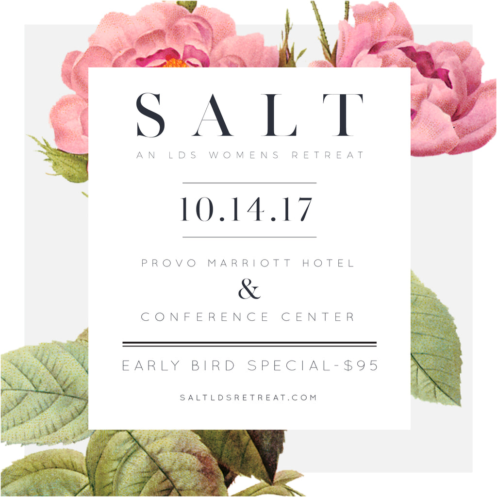 Come see me at SALT in October!