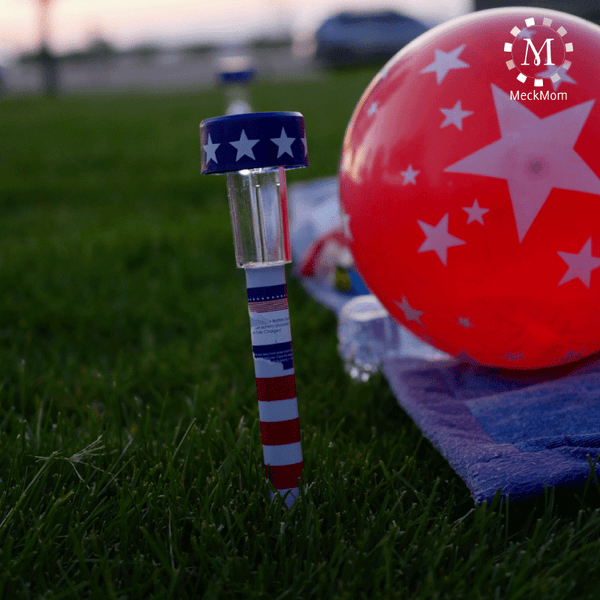 4th of July Mom Hacks: Solar Blanket Lights